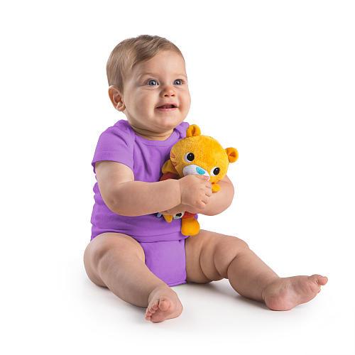 Bright Starts Grab Me Friends Stuffed Tiger Rattle Toy