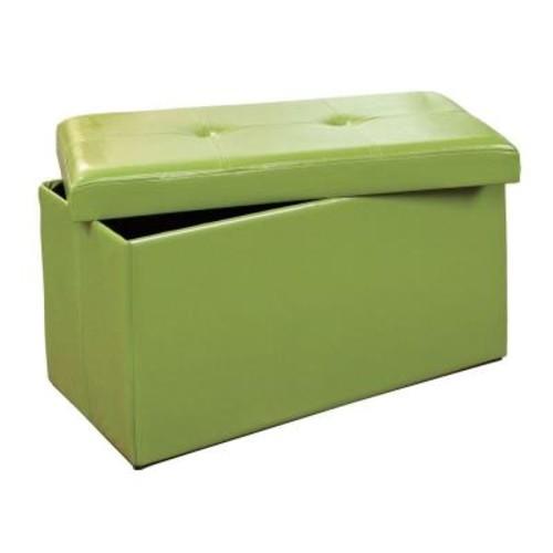 Simplify Lime Storage Ottoman