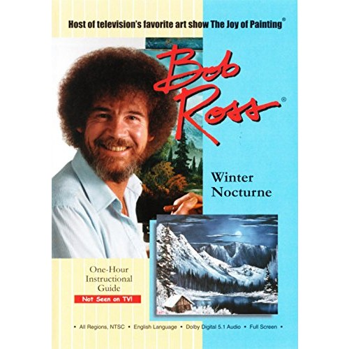 Bob Ross The Joy of Painting: Winter Nocturne: Bob Ross, -: Movies & TV