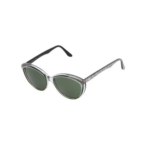 YVES SAINT LAURENT VINTAGE Embellished Cat Eye Sunglasses