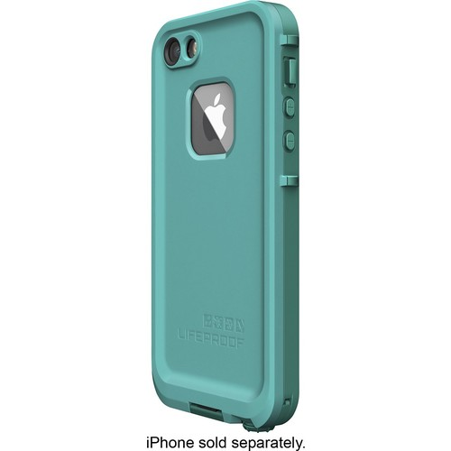LifeProof - Fr Protective Case for Apple iPhone 5, 5s and SE - Teal, Dark teal