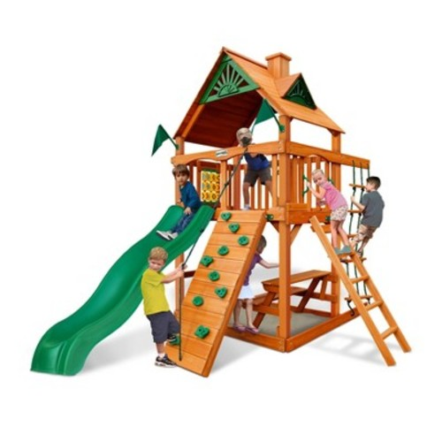 Gorilla Playsets Chateau Tower with Amber