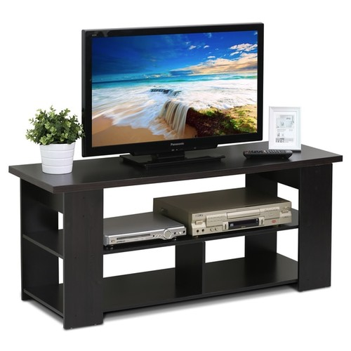 Furinno TV Stands & Entertainment Centers Furinno Jaya Espresso Media Cabinet
