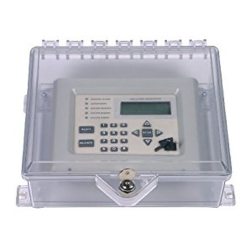 Safety Technology International, Inc. STI-7520 NEMA 4X Protective Cabinet with Backplate and Key Lock - Clear Multipurpose Polycarbonate Enclosure