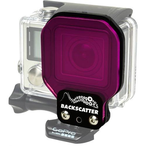 Backscatter FLEX GREENWATER Filter for GoPro Standard Housing
