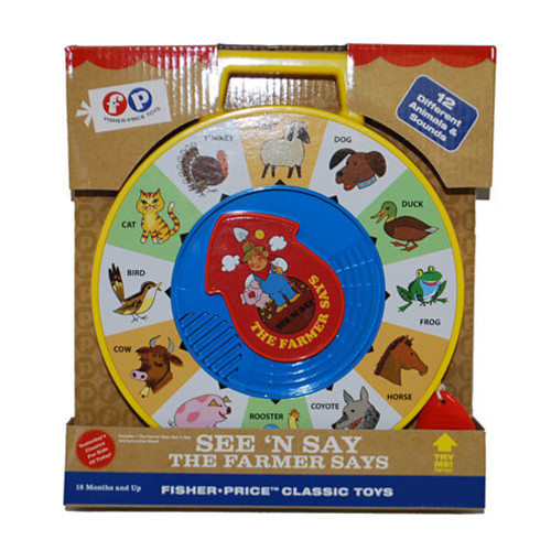Fisher-Price See 'n Say Retro