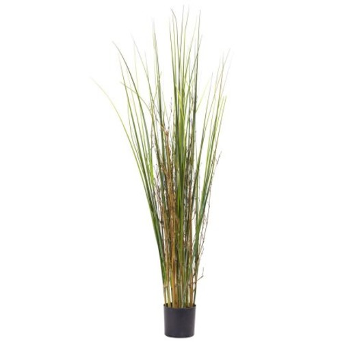 Nearly Natural 4 ft. Grass and Bamboo Plant