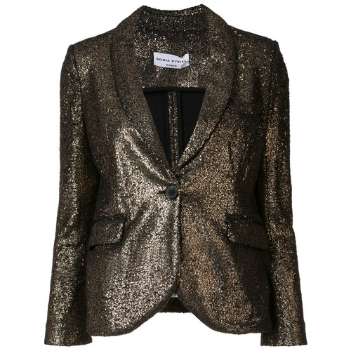 SONIA RYKIEL Single Breasted Fitted Jacket