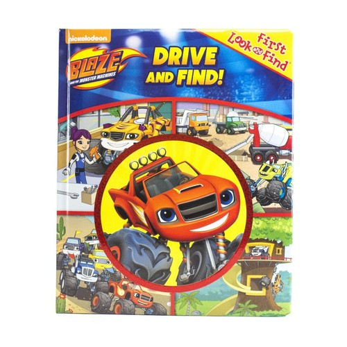 Blaze and the Monster Machines Drive and Find! Book