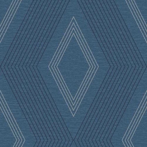 Sample Aspen Wallpaper in Blue design by York Wallcoverings
