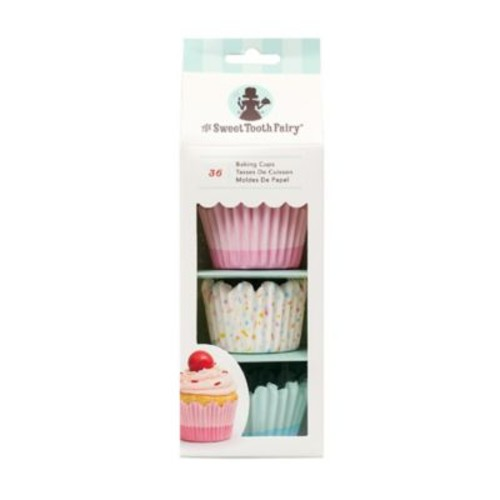 Sweet Tooth Fairy 36-Count Standard Baking Cups in Pastel