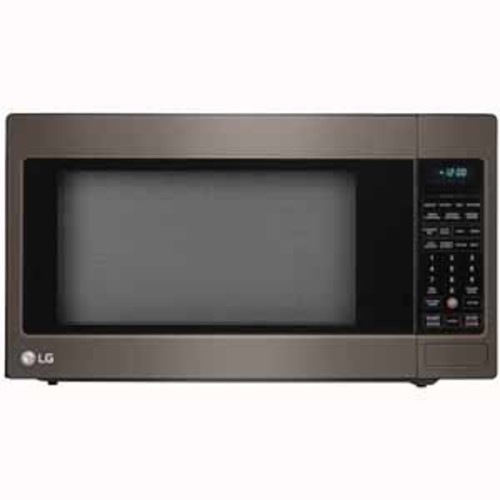 LG 2.0 cu. ft. Countertop Microwave Oven with EasyClean - Black Stainless Steel