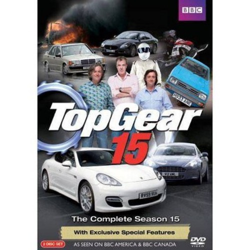 Top Gear: The Complete Season 15 [2 Discs] [DVD]
