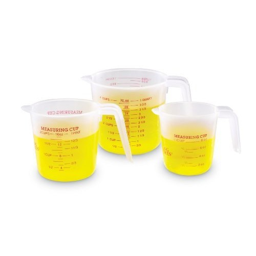 Learning Resources Liquid Measures, Set of 3 [1]