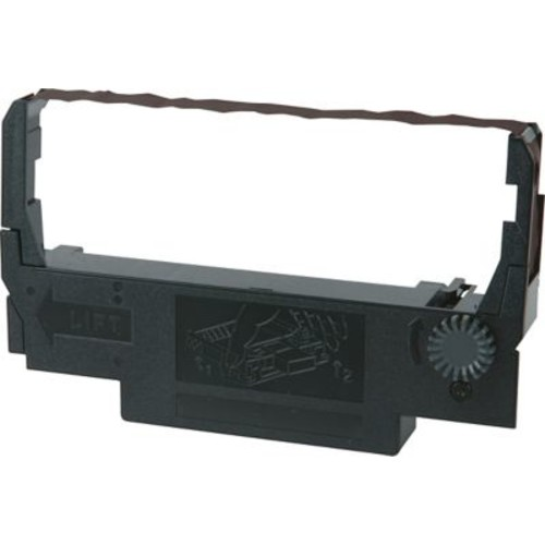 Epson ERC30/34/38 POS Nylon Ribbon, 6/Pack, Black/Red