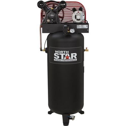 NorthStar Belt-Drive Stationary Air Compressor  3 HP, 60-Gallon Vertical Tank