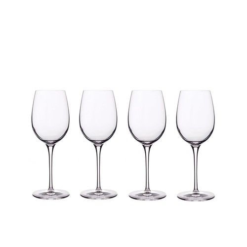Luigi Bormioli Glassware, Set of 4 Crescendo Chardonnay Glasses