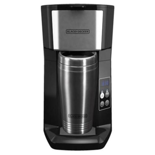 Black & Decker 2-Cup Single Serve Programmable Coffee Maker