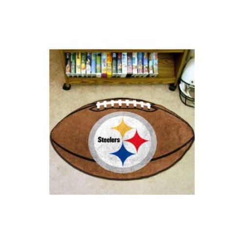 Fanmats NFL Pittsburgh Steelers Football Mat (22 in. x 35 in.)