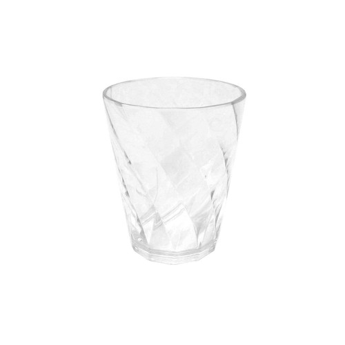 Essential Home Double Old Fashioned Glass  Clear