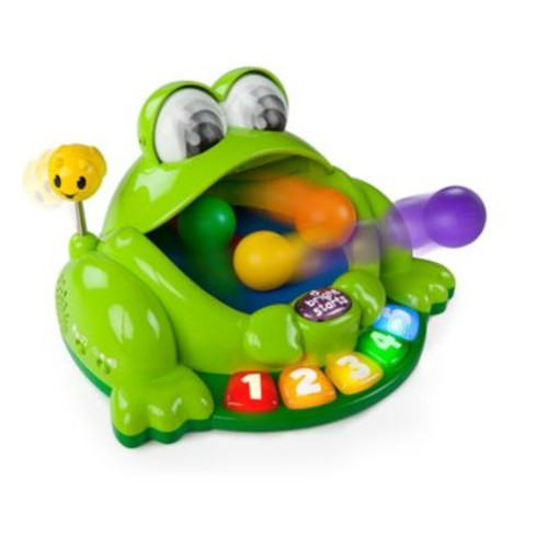 Bright Starts Pop & Giggle Pond Pal in Green