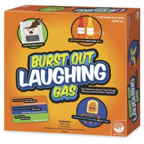 Burst Out Laughing Gas Board Game