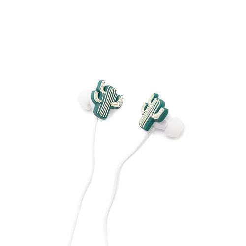 Cactus Plant Earbud Headphones