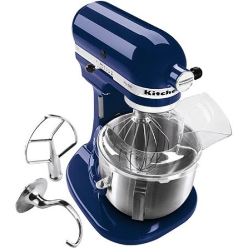 KitchenAid Artisan Series 5-Quart Tilt-Head Stand Mixer, Blue Willow