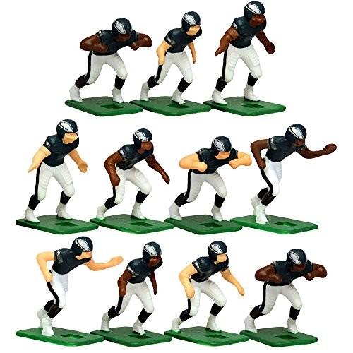 Tudor Games Philadelphia Eagles Dark Uniform NFL Action Figure Set