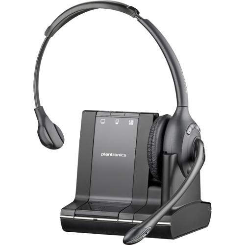 Plantronics Savi W710-M Wireless Over-the-Head Headset With Noise Cancelling