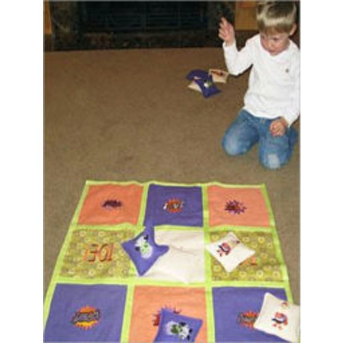 Tic-Tac-Toe Toss Game instructions to make one of your own!