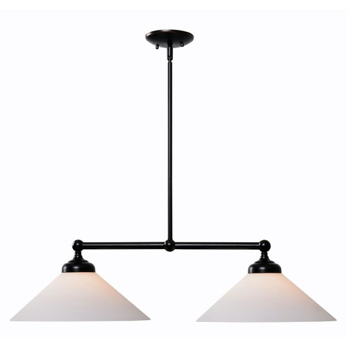 Kenroy Home Conical 2-Light Oil Rubbed Bronze Island Pendant