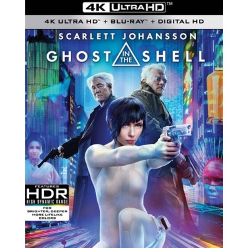 Ghost in the Shell [4K UHD] [Blu-Ray] [Digital HD]