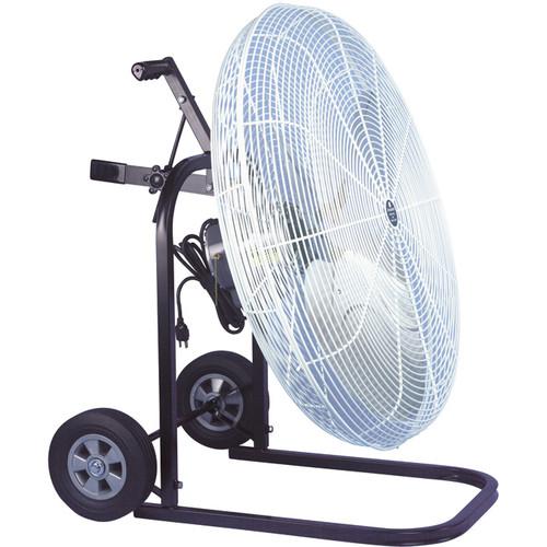 Schaefer Steel Fan Cart Mount  24 or 30in. Fan Diameter