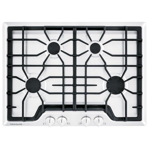 Frigidaire Gallery 30 in. Gas Cooktop in White with 4 Burners