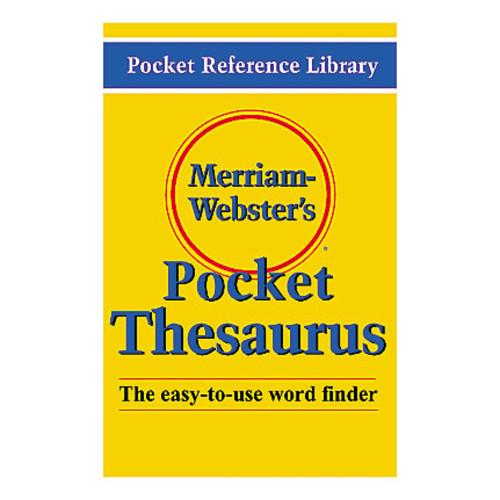 Merriam-Webster's Pocket Thesaurus, Pack Of 3