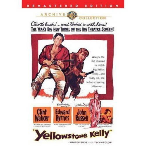 Warner Bros Yellowstone Kelly, 1959, DVD