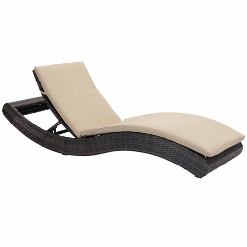 Zuo Modern Pamelon Beach Patio Lounge Chair