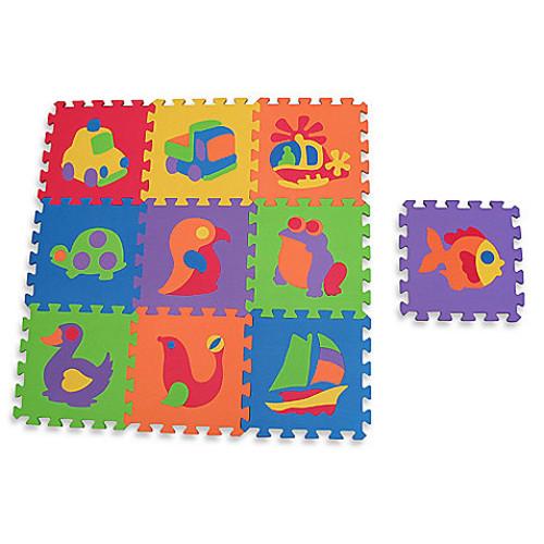 Edushape Edutile 10-Piece Puzzle Play Mat