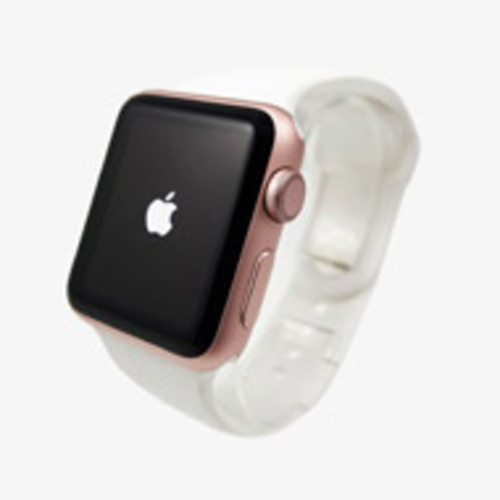 Apple Watch Series 3 42mm Aluminum Frame - GPS Only (Gold with White) [Pre-Owned]