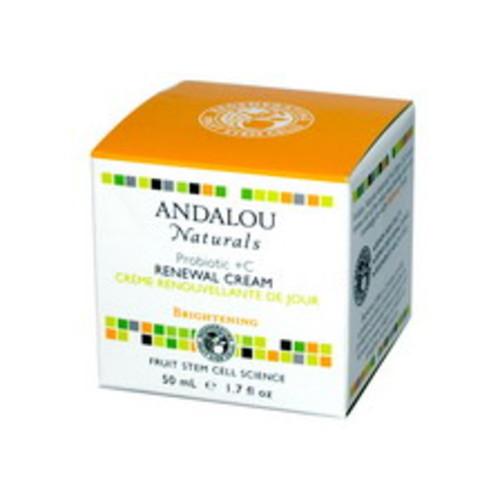 Andalou Naturals Probiotic Plus C Renewal Cream, 1.7 OZ