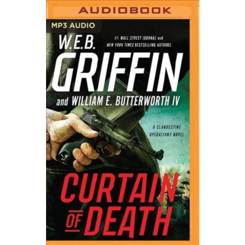 Curtain of Death (MP3-CD) (W. E. B. Griffin & IV William E. Butterworth)