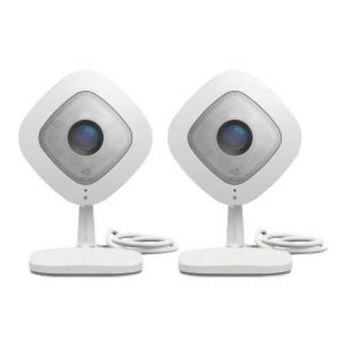 NetGear Arlo Q VMC3240 Network Surveillance Camera - 1920 x 1080 Pixels, Wireless, 2-Way Audio, Built-in Speaker, Color, Day & Night, Fixed, CMOS Sensor, Built-in Microphone - VMC3240-100NAS