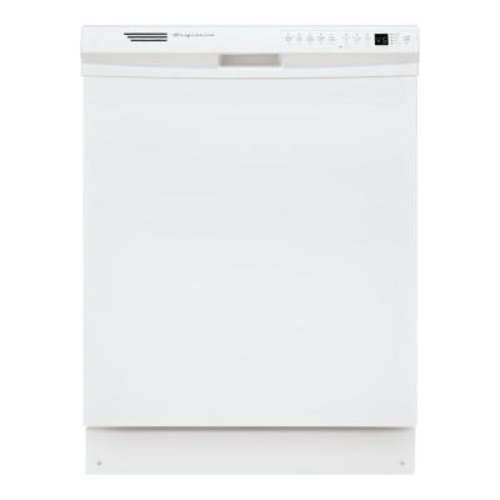 Frigidaire Front Control Dishwasher in White with Stainless Steel Tub, ENERGY STAR