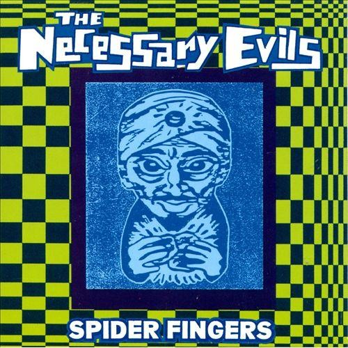 Spider Fingers [CD]