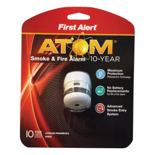 First Alert Battery-Powered Photoelectric Smoke and Fire Alarm(P1010)