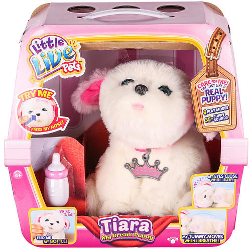 Little Live Pets My Dream Puppy Playset - Tiara