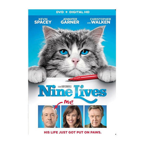 Nine Lives DVD (DVD/Digital HD)