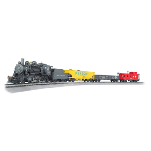 Bachmann Trains Digital Commander - HO Scale Ready To Run Electric Train Set With GP40 & FT Diesel Locomotives - Santa Fe