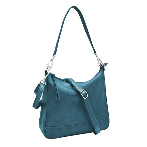 Blue Convertible Hobo
